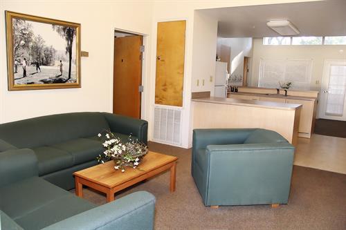 Rental Cottage Living Room & Kitchen