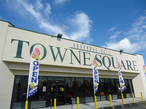 TowneSquare Mall is located near Timber Pines on Hwy 19.