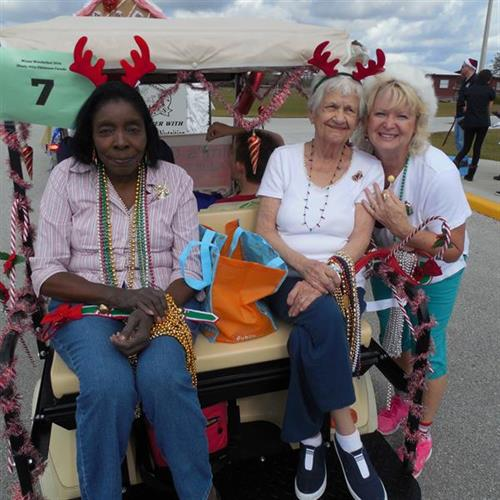 Local Christmas Parade with Mimi's Care Cottage