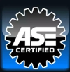We are ASE Certified so you can count on quality workmanship!