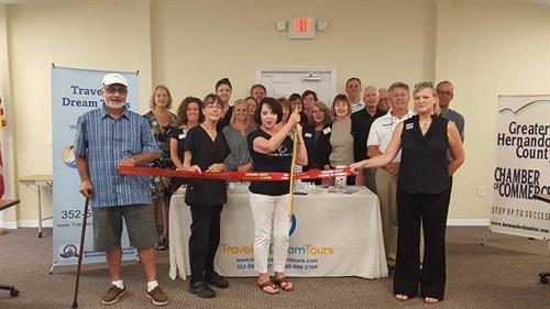 Wonderful day with Greater Hernando County Chamber of Commerce ribbon-cutting!  Thanks to everyone!