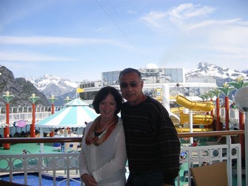 Glacier Bay, Alaska.  NOrwegian Pearl