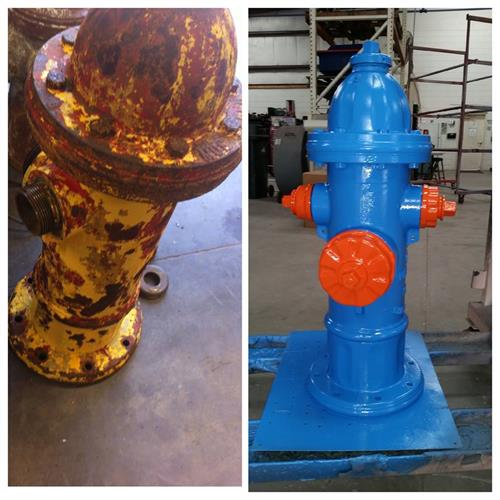 Fire Hydrant Before & After