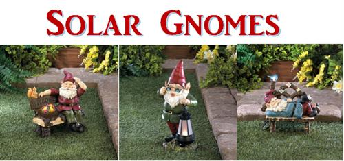 New Solar Gnomes!