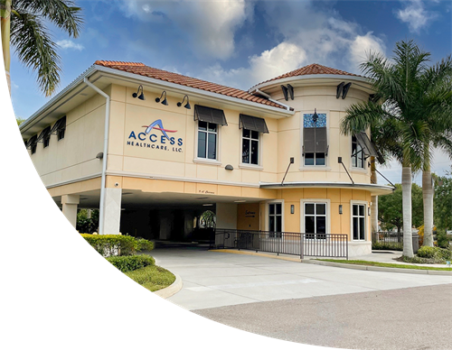 Access Health Care Home Building.