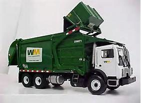 Commercial Dumpster Truck