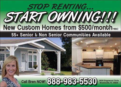 Stop Renting Start Owning!!!