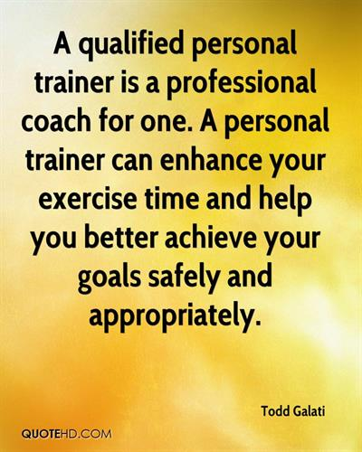 Hire a Certified Personal Trainer.