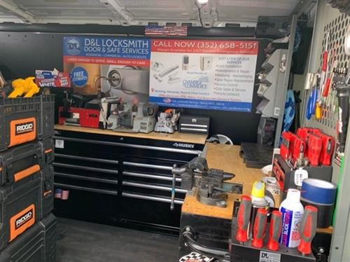 Our Mobile Locksmith Shop