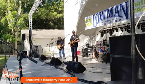 Brooksville Blueberry Festival 2019 - Sound, Stage and Lighting