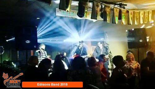 The Edisons Band - Sound and Lighting