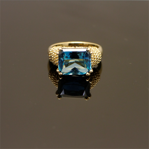 14k topaz gold ring prestige pawn & jewelry