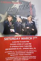 "A Patriotic Tribute  ""Ladies for Liberty!"""