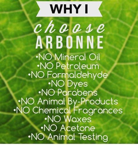 why Arbonne??