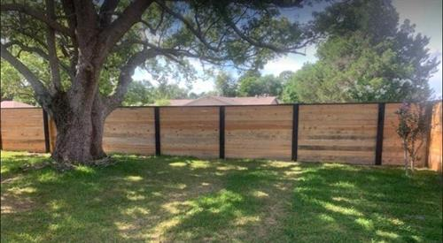 Custom Wood Privacy Fence