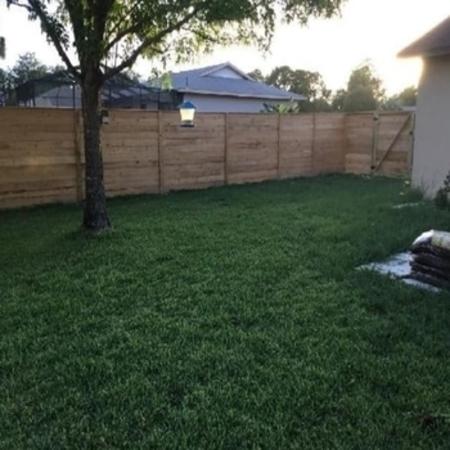 Horizontal Wood Privacy Fence