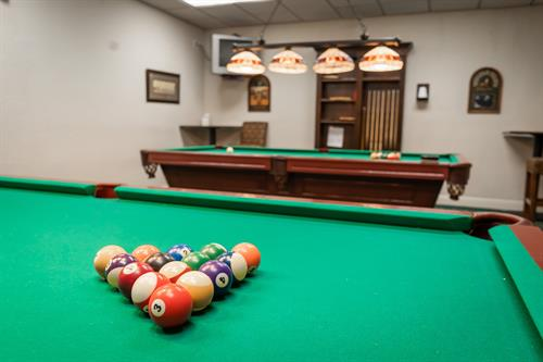 Member Exclusive Billiards Room