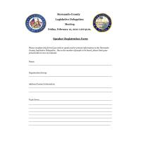 News Release: 1/7/2021:Hernando Legislative Delegation sets public meeting date
