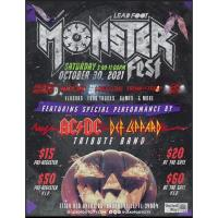 News Release: 10/18/2021: Monsterfest at Lead Foot City