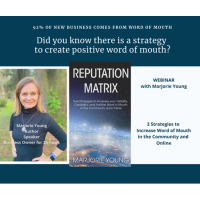 MARJORIE YOUNG Presents - Strategies to Create Word of Mouth for Business Success