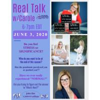 REAL TALK w/Carole - What Next?