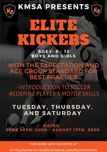 Elite Kickers Summer Semester