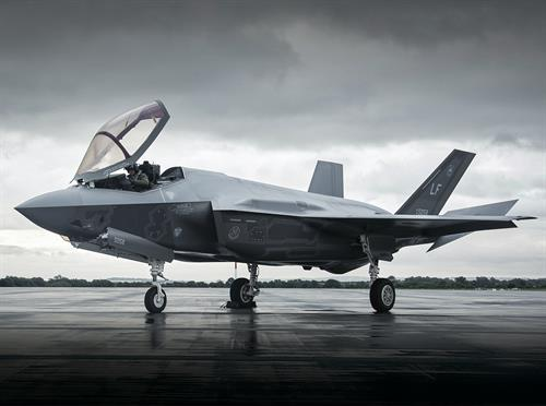 F135 fifth genereation engine on the F-35 fighter