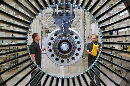 Pratt & Whitney's Geared Turbofan PW1100G-JM engine