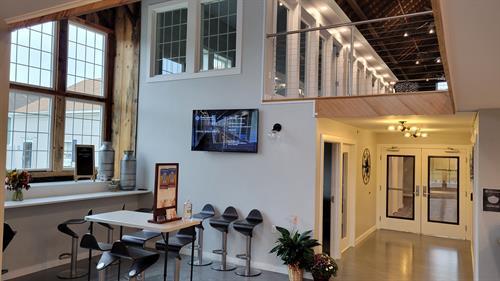 Entry & Café Area