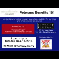 Lunch & Learn: Veterans Benefits 101