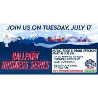 Night at the Fisher Cats: Business Ballpark Series Mixer
