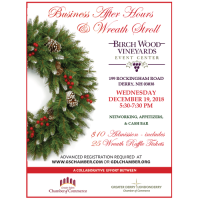 Annual Business After Hours & Holiday Wreath Stroll