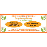 Business Before Hours-Derry Massage Therapy & Wellness Center