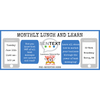 Lunch & Learn with SENTEXT