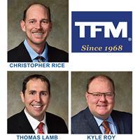 TFMoran promotes engineers Rice, Lamb and Roy to Principals