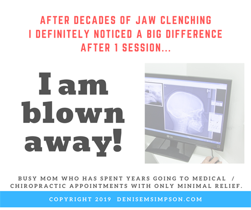 10 years of Jaw Pain Resolved in 1 Session!