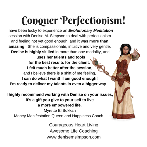 Conquer Perfectionism to Achieve Your Goals