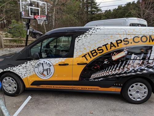 Tibs Taps Van