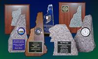 NH Awards in granite, wood and acrylic