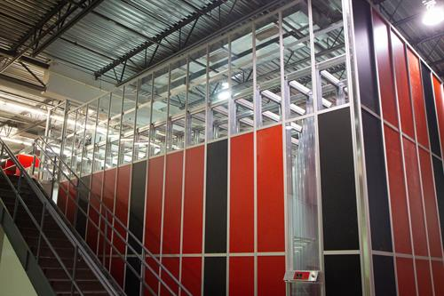 AutoStore Grid in our Derry facility