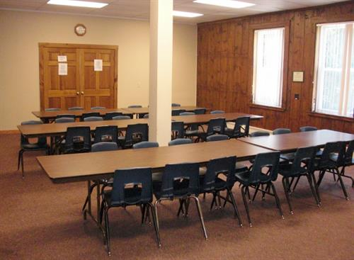 Room 2 is ideal for larger meetings.