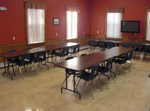Room 2A is a smaller size, great for meetings.