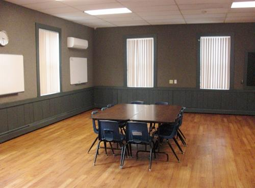 Our open format room 5 is used by a wide variety of groups.