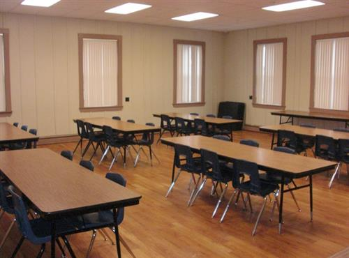 Large open box room 6 is great for parties!