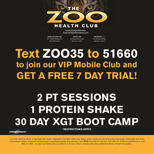 Zoo Gym - Derry, Manchester & CT