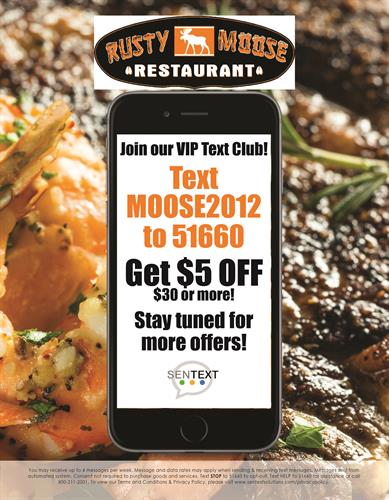 Rusty Moose Restaurant - Alton, NH