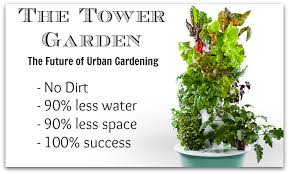 Tower Gardening is simple, affordable, fun and healthy!