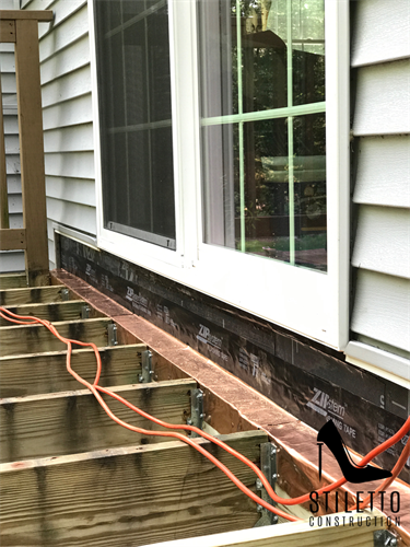 Danville NH PT Deck Board + Slider Replacement