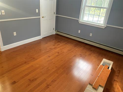 Sandown NH Maple Hardwood Flooring Install