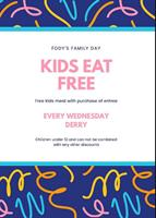 Member Event:  Fody's Family Day- Every Wednesday!